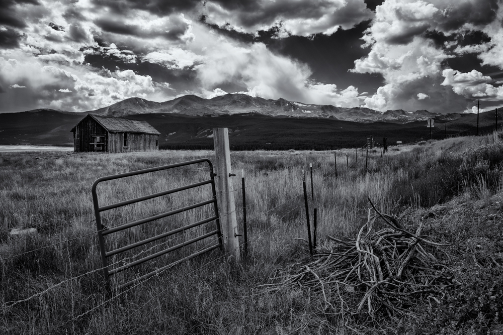 The Mt Massive Massif, #3. From near Leadville, Colorado, 2014