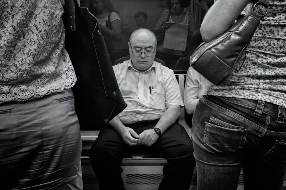 BCN Metro #6. Barcelona, 2014