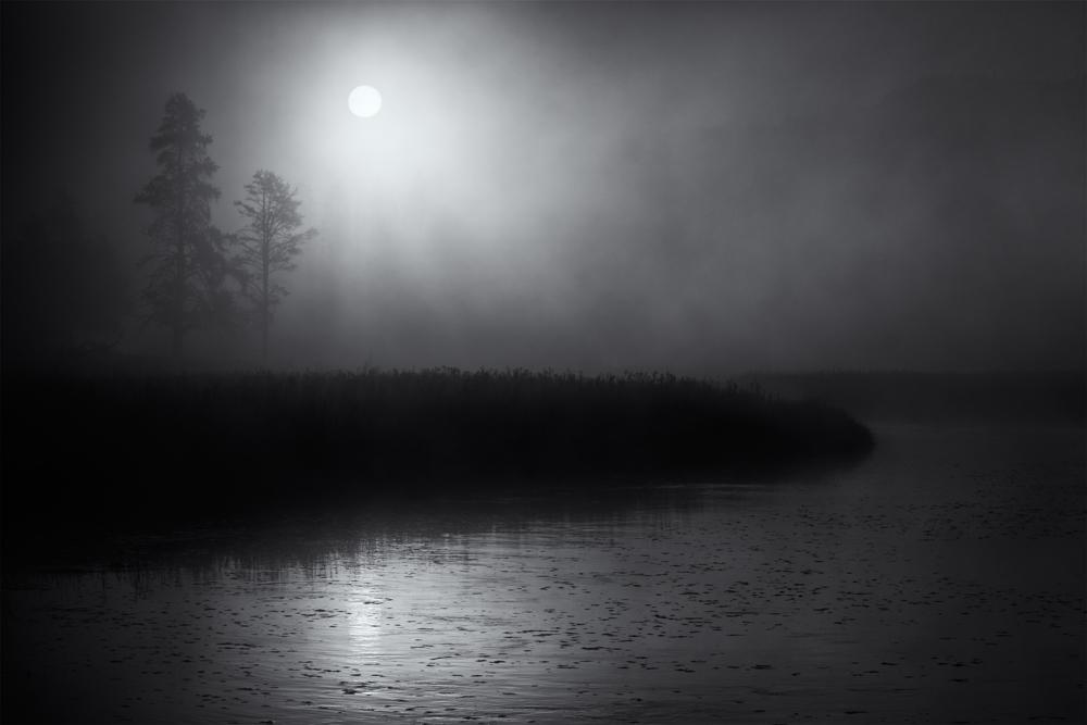 Madison Morning Mist, #7 (Sunrise). Yellowstone NP, Wyoming, 2014