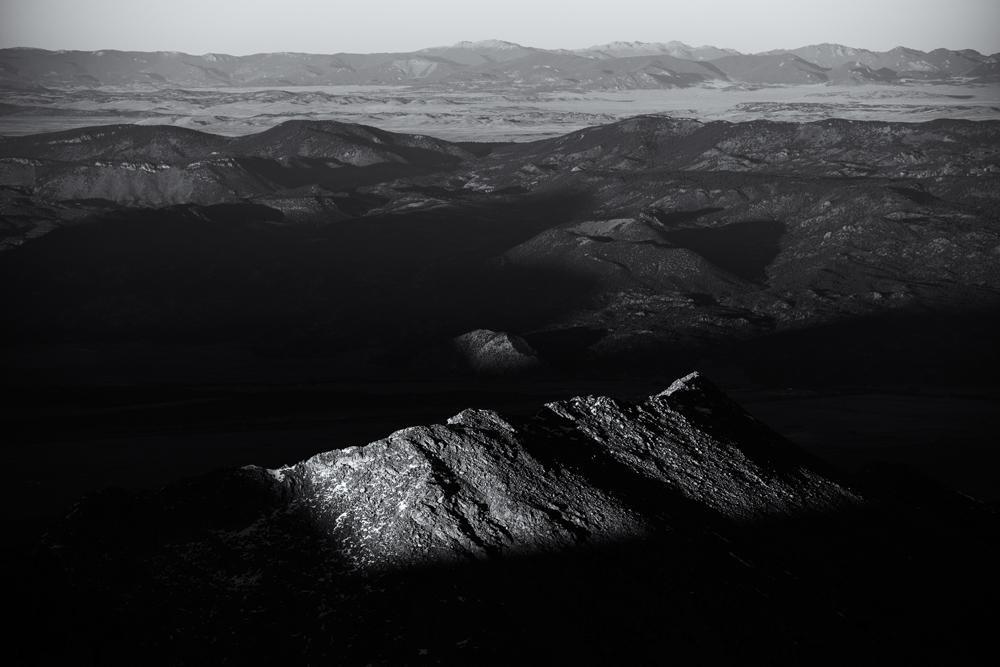 Shavano View, #1. From Mount Shavano summit, Colorado, 2014