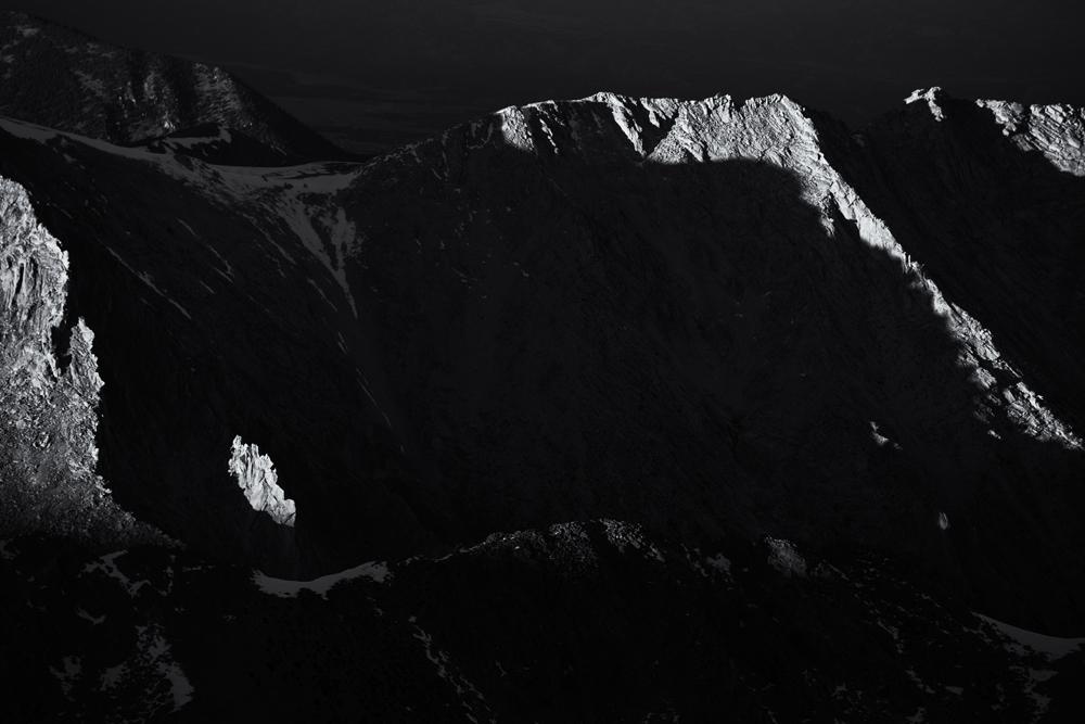 Shavano View, #3. From Mount Shavano summit, Colorado, 2014