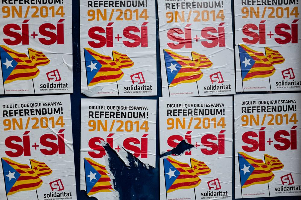 9 Nov Referendum. Barcelona, 2014