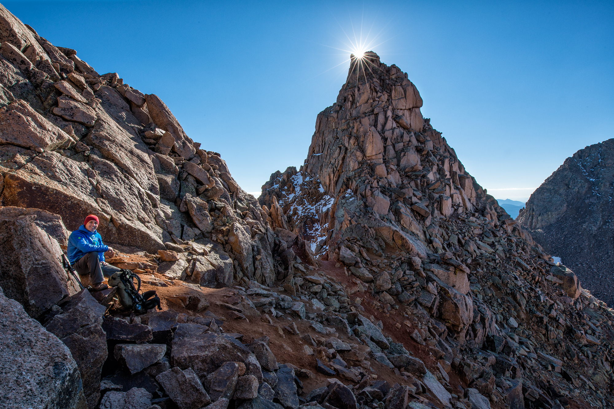 Sunburst, Sunlight Spire, #3. Needle Mountains, Colorado, 2014