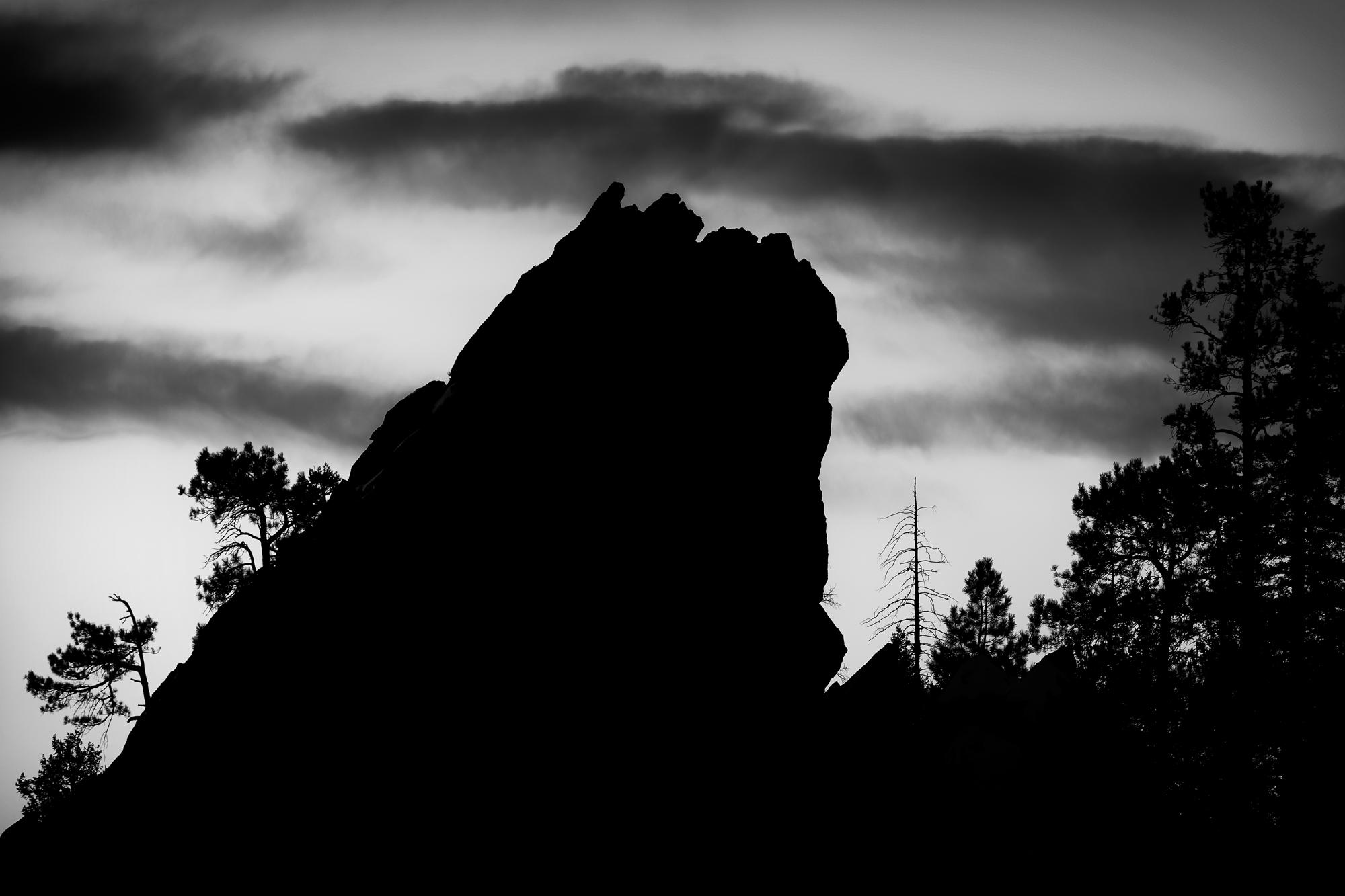 Flatirons Still Life. Boulder, Colorado, 2014