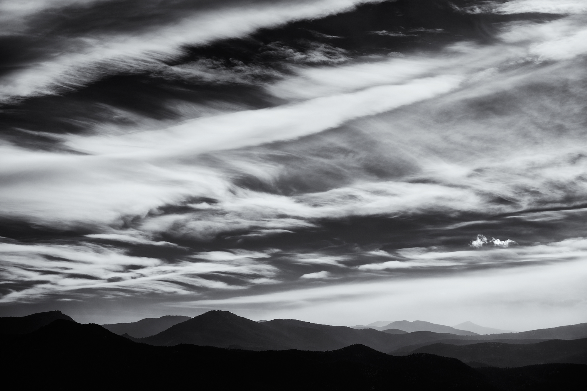 Layers, #1. From Green Mountain, Boulder, Colorado, 2014 (The view to the southwest)