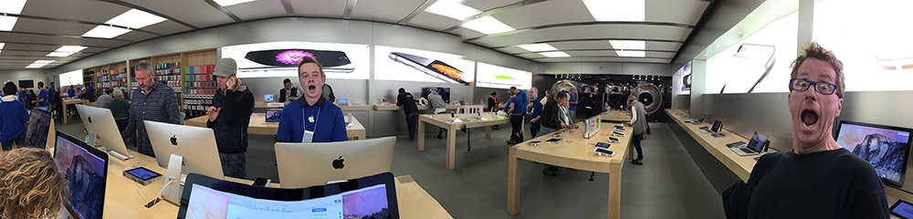 Apple Store Pano. Boulder, Colorado, 2014 (Photo by: Wes Cables)