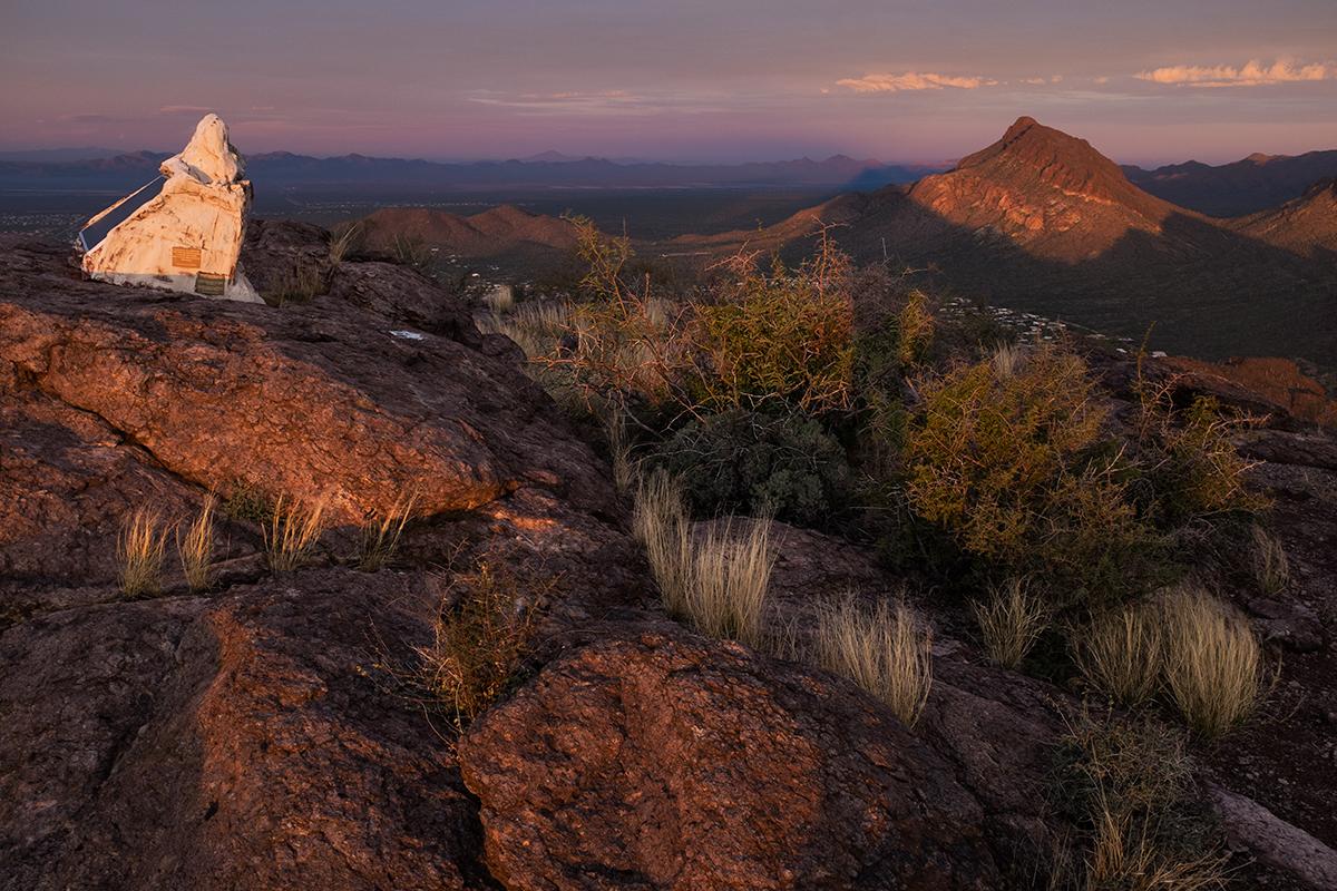 Cat Mountain Summit, #1. Tucson, Arizona, 2015