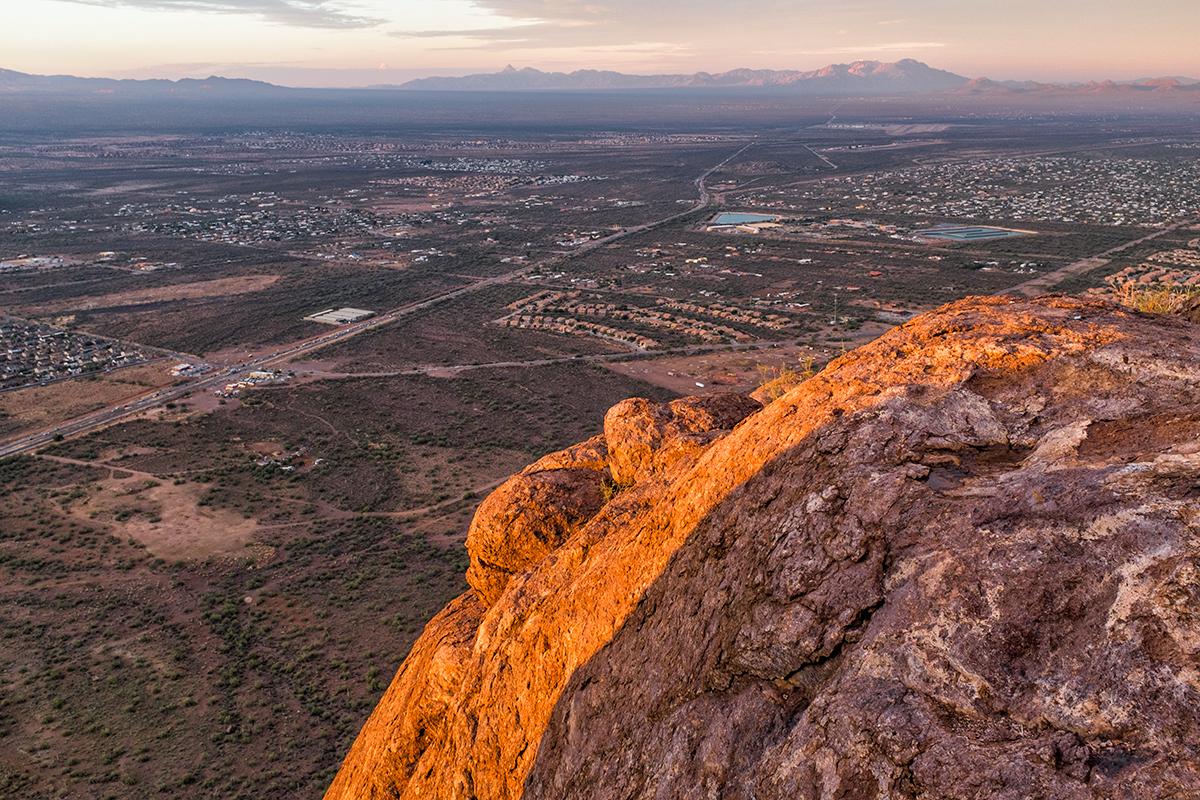 Kitt Peak View, #1. From Cat Mountain, Arizona, 2015