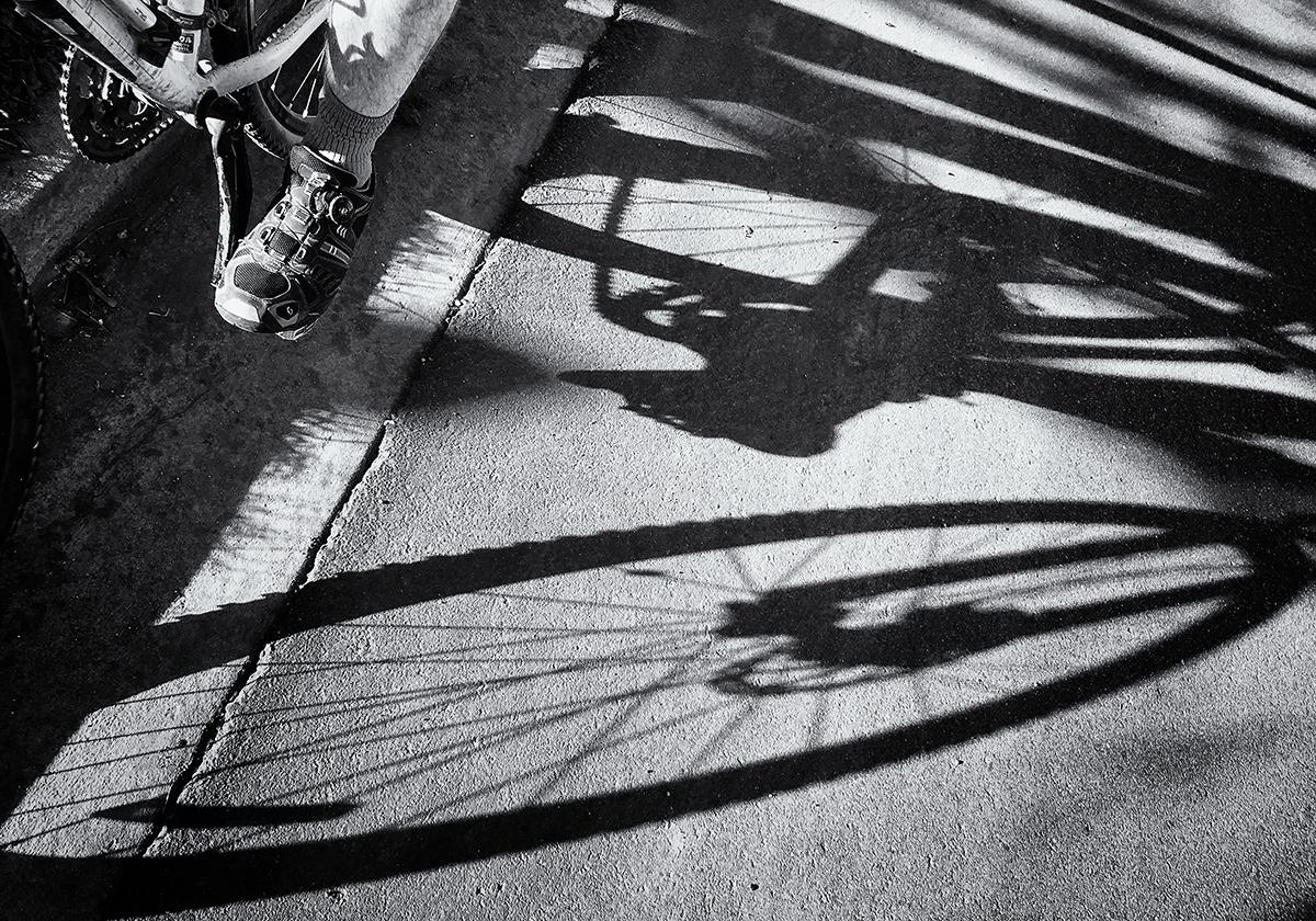 The Cyclist. Boulder, Colorado, 2015