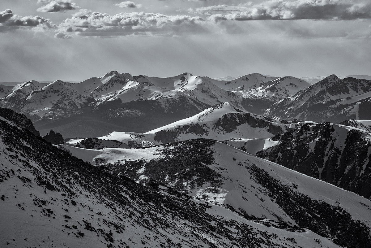 RMNP View. From MLW, Colorado, 2015