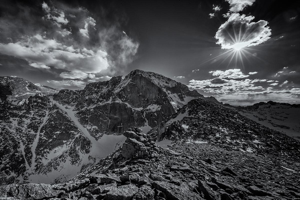 Longs Peak Portrait. From MLW, Colorado, 2015