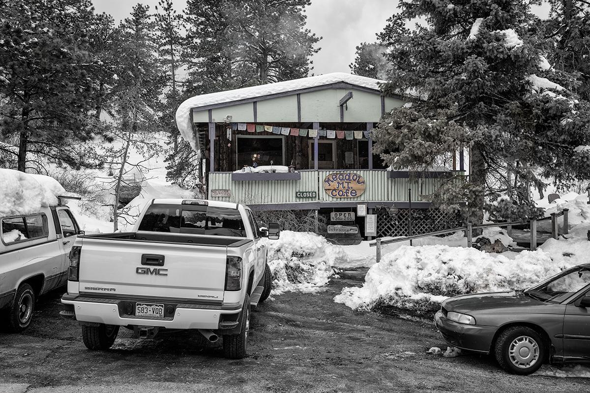 Mountain Meadow Cafe. Allenspark, Colorado, 2015