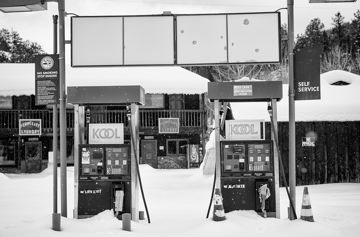 Pumps and Stores. Ferncliff, Colorado, 2015