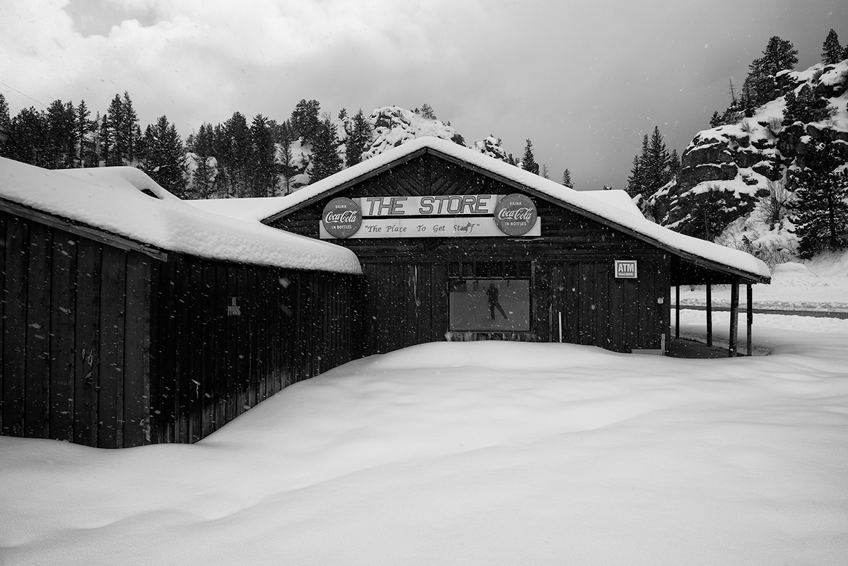The Place To Get Stuff. Ferncliff, Colorado, 2015