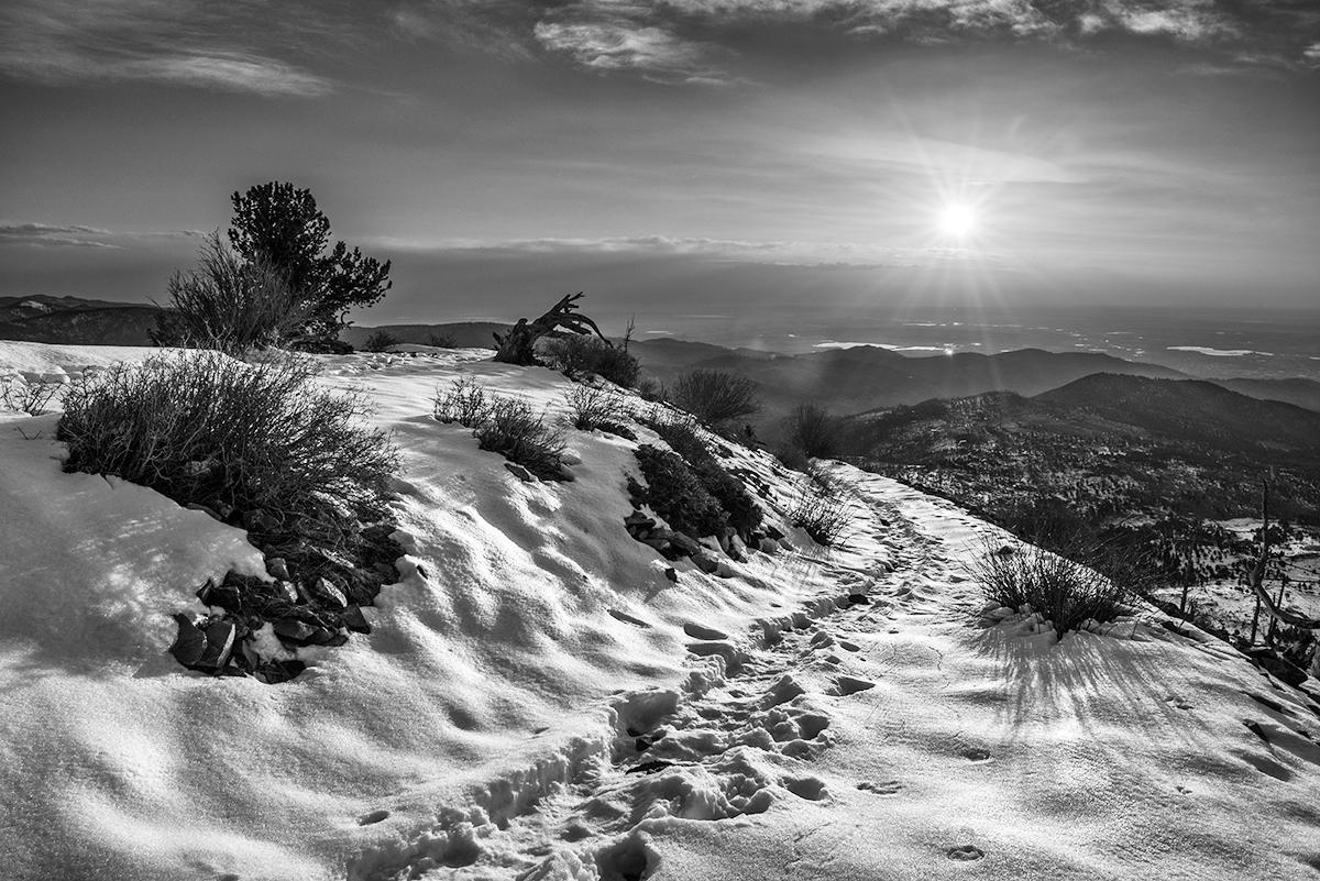 A Sugarloaf Morning Sun. Sugarloaf Mountain, Colorado, 2015