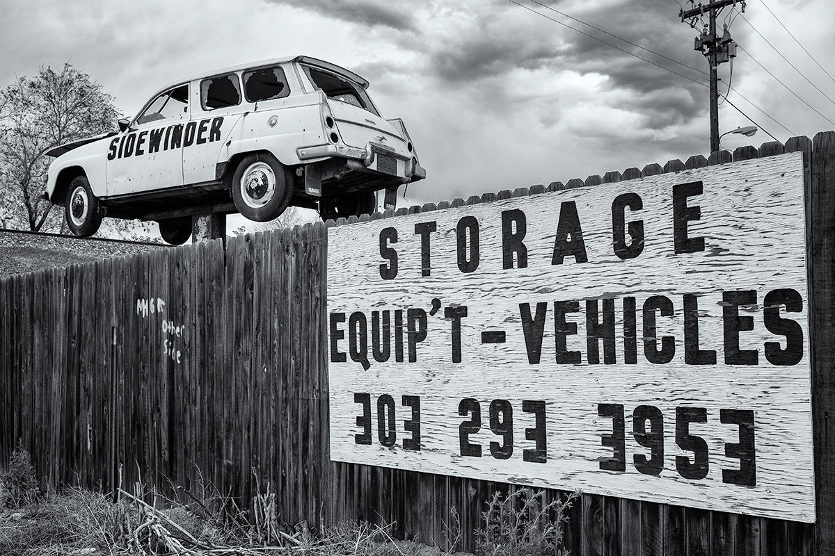 Sidewinder Storage. Denver, Colorado, 2015 (Example of a small business!)