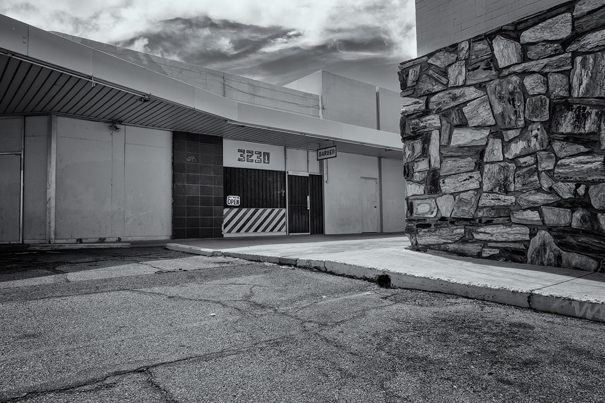 Corner Barber Shop, #1. Tucson, Arizona, 2015