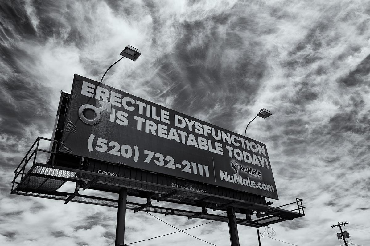 Dysfunctional Ad. Tucson, Arizona, 2015