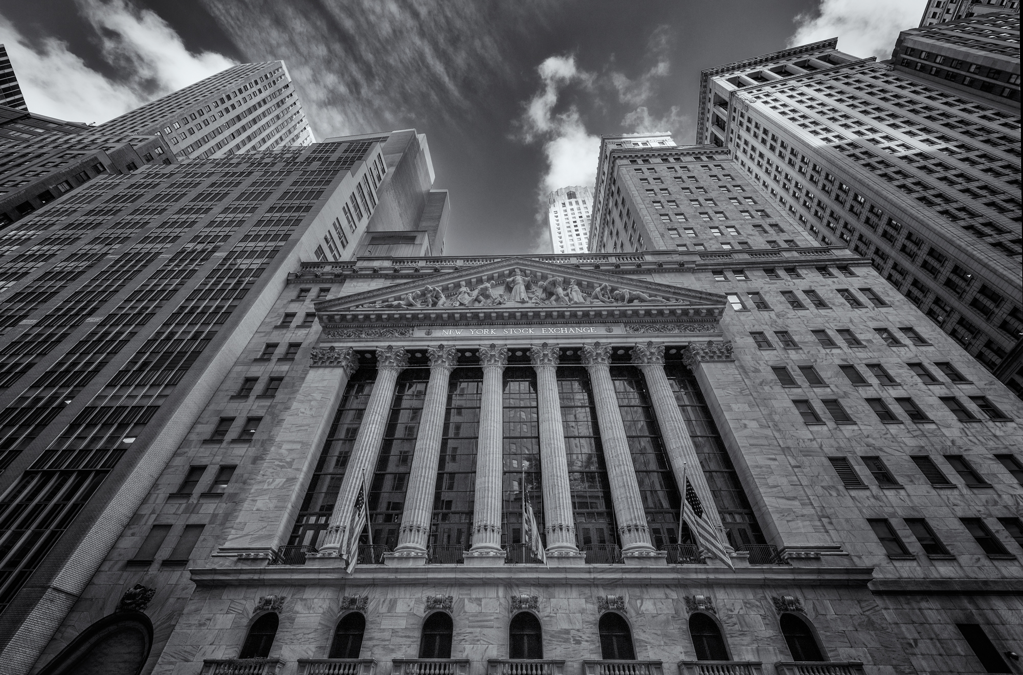 Center of the Known Universe. NYSE, Wall Street, NYC, 2015