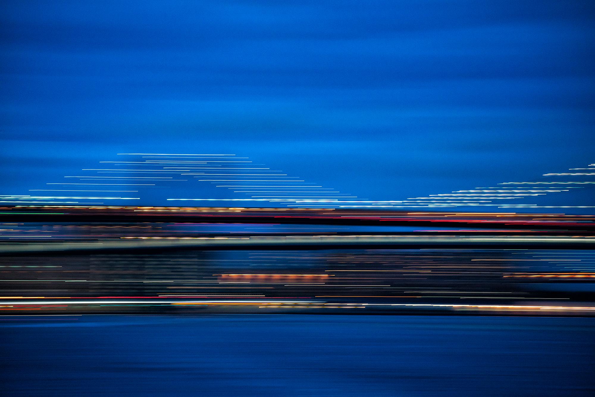 Brooklyn Bridge, Nightscape #1. NYC, 2015