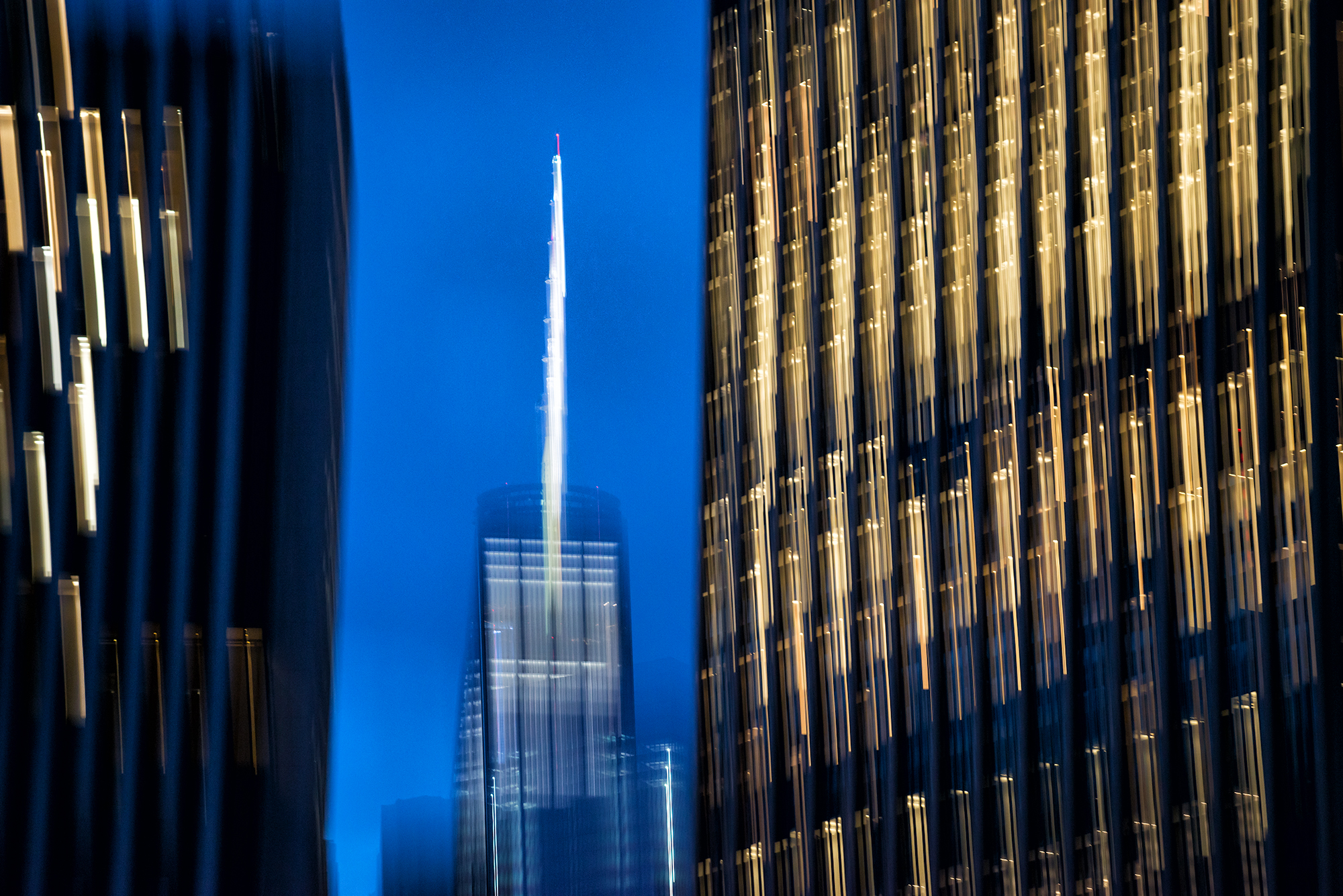One World Tower, Nightscape #2. NYC, 2015
