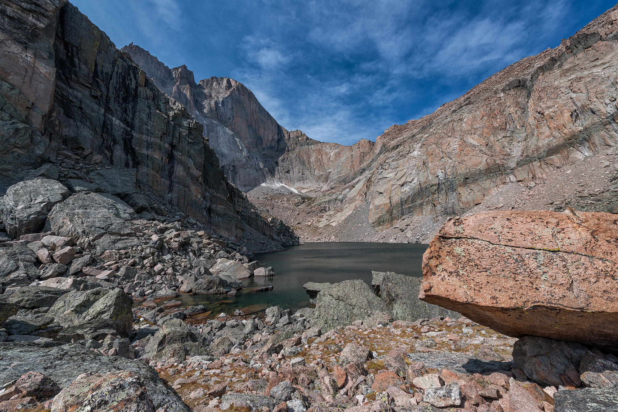Chasm Lake View, Late Summer. RMNP, Colorado, 2015