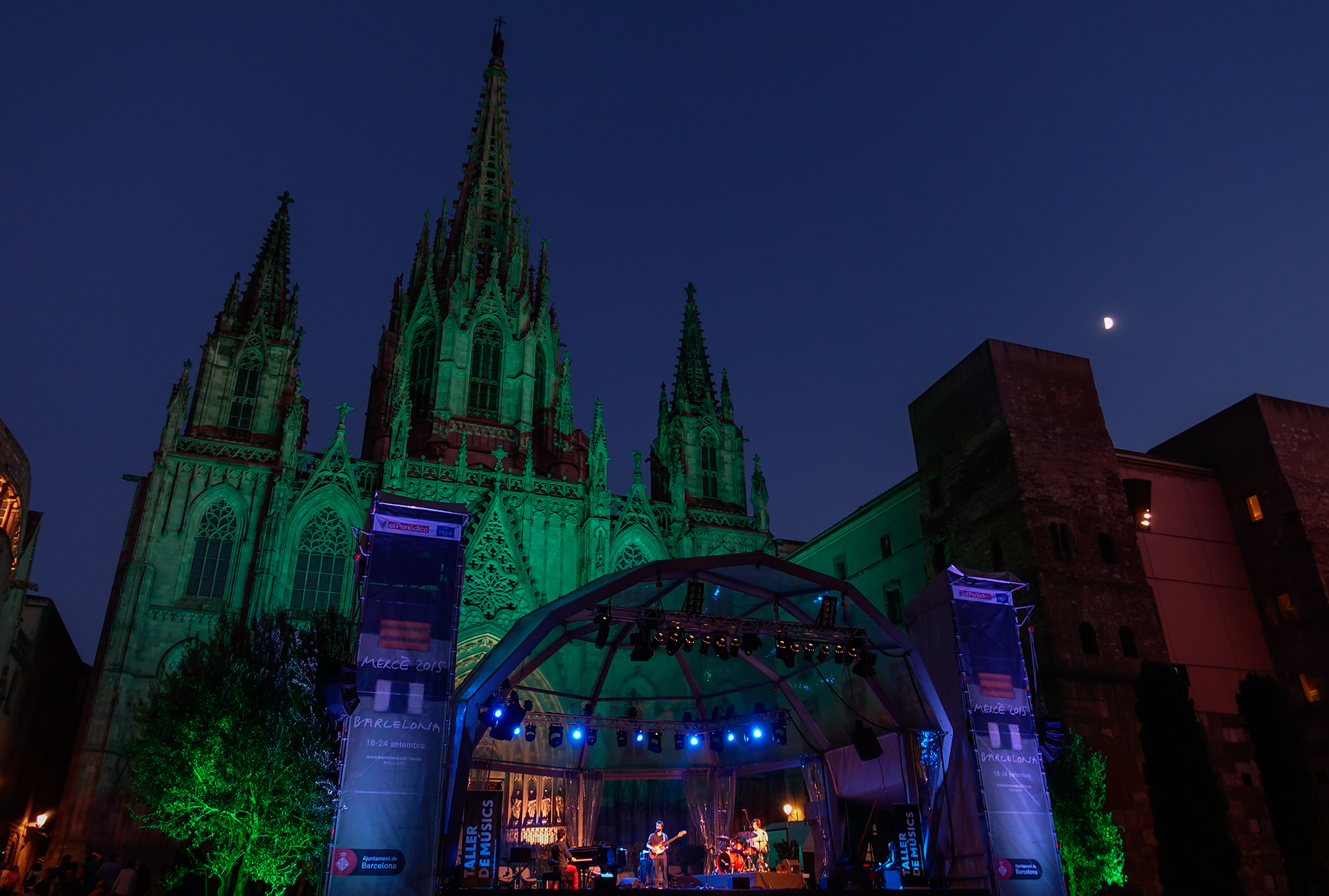 Night Concert. Barcelona, 2015