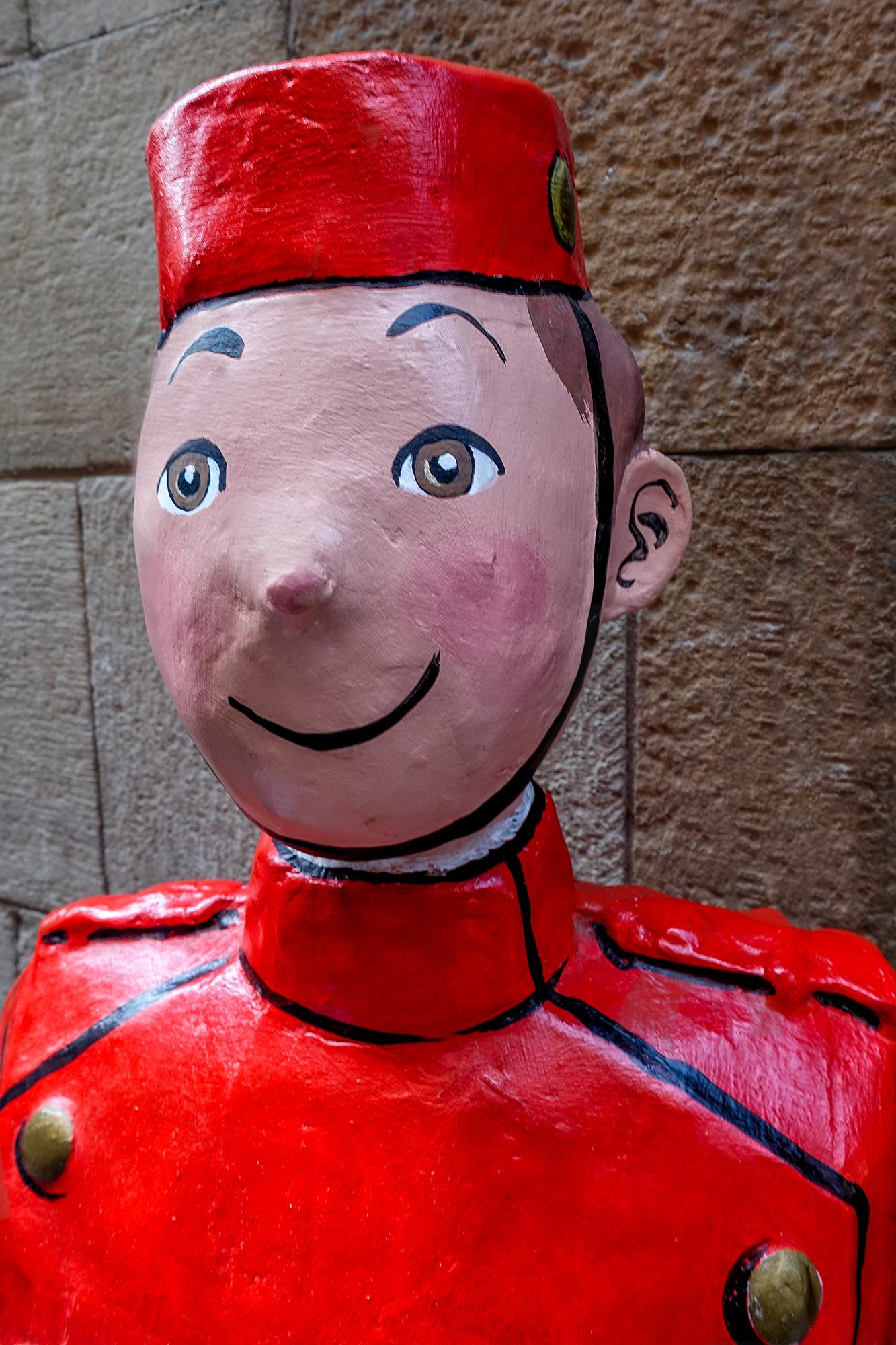 Tin Tin in Red. Barcelona, 2015