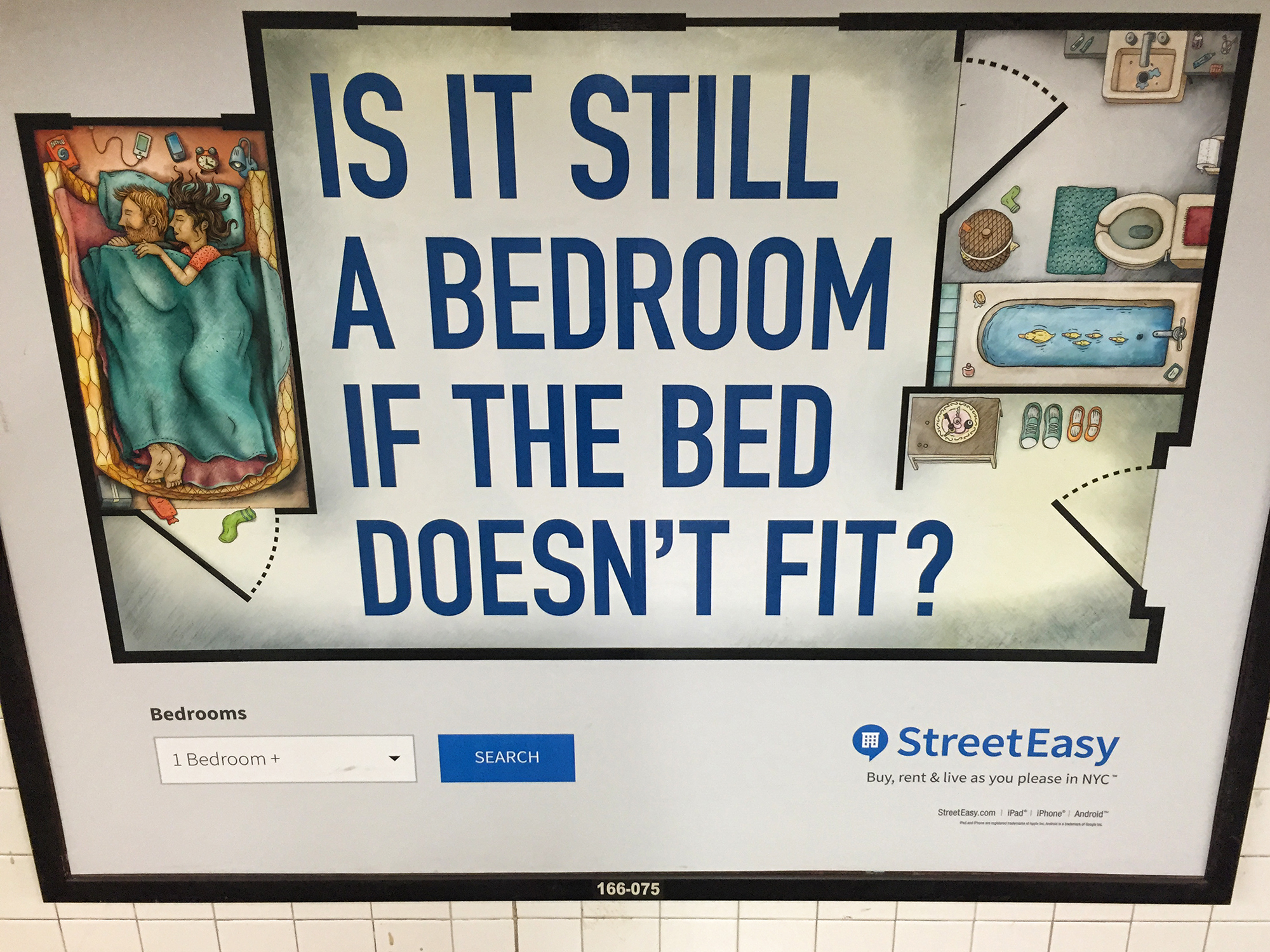StreetEasy Ad, #1. NYC, 2015