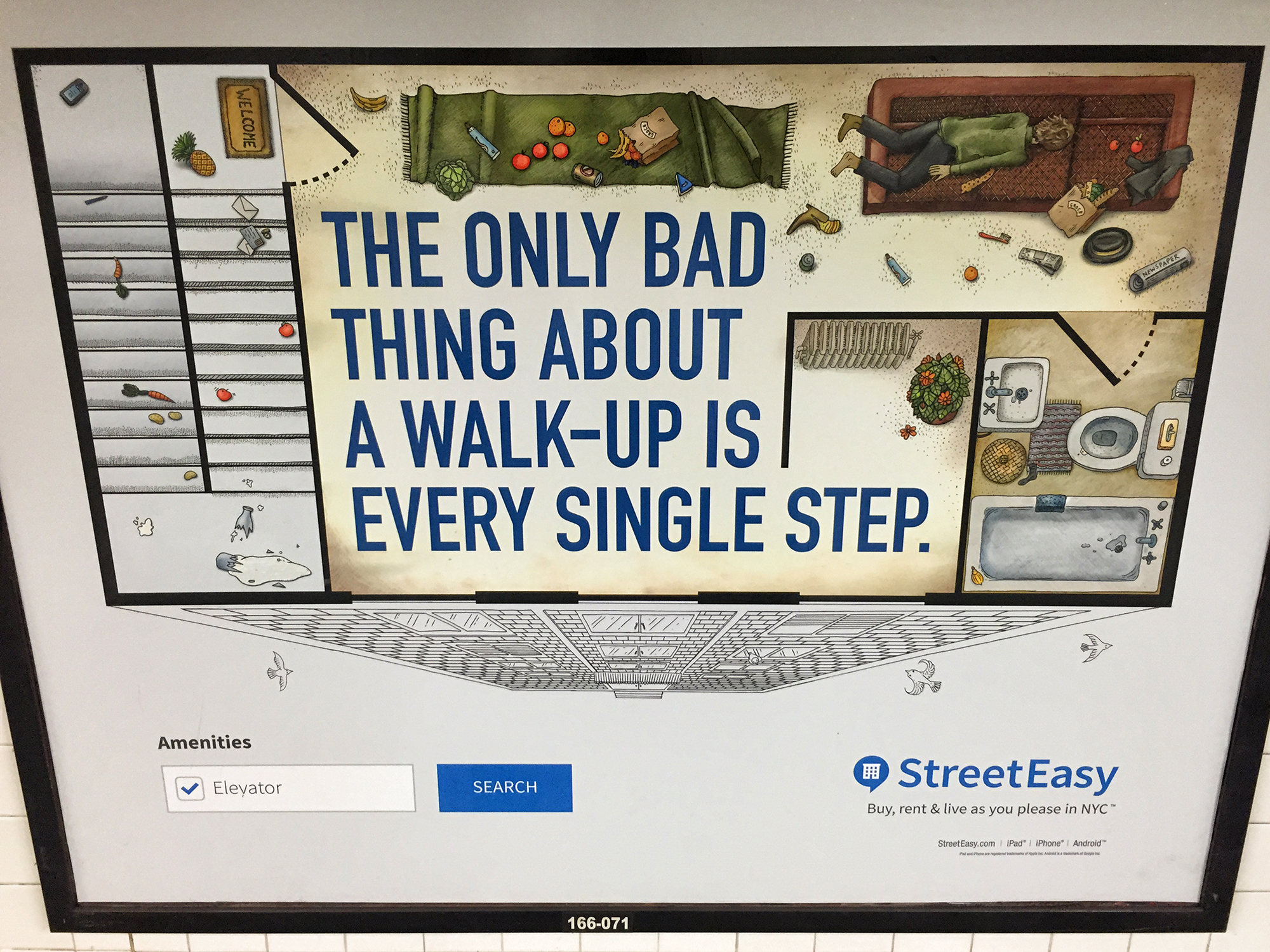 StreetEasy Ad, #2. NYC, 2015