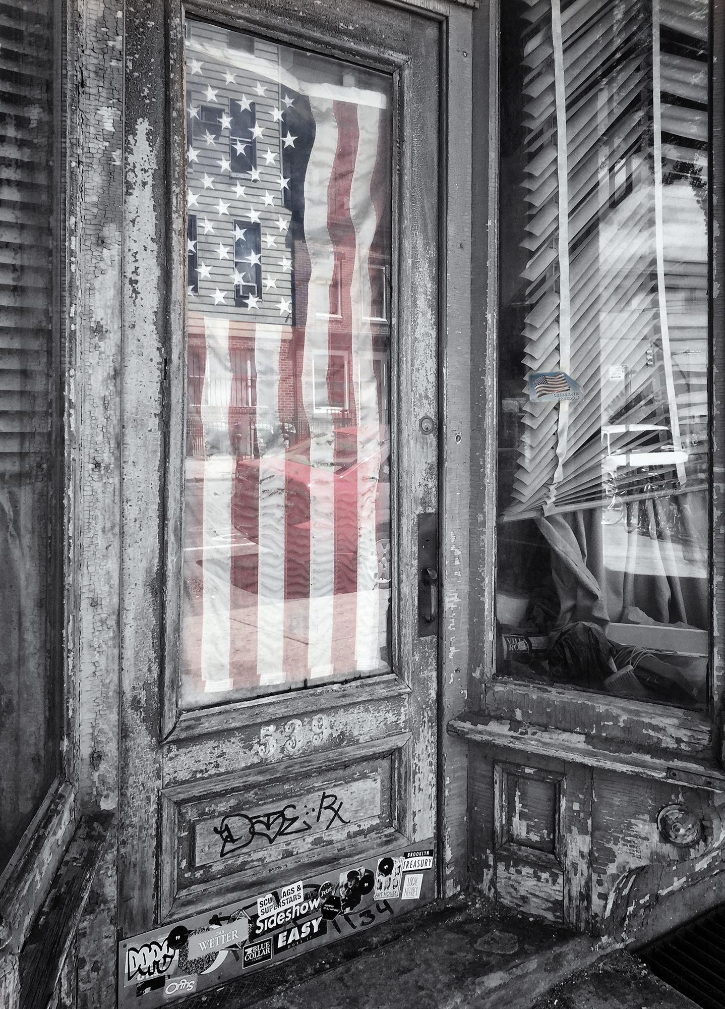 Patriotic Apartment. Brooklyn, NY, 2015