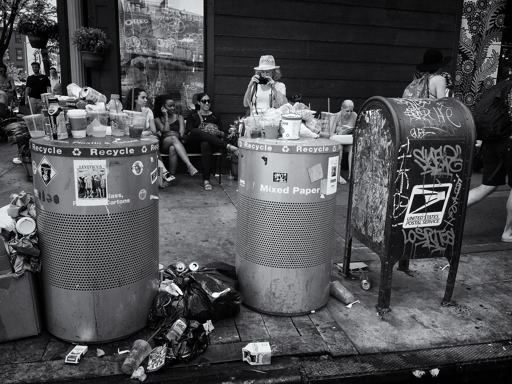 Recycling Consciousness. Brooklyn, NY, 2015