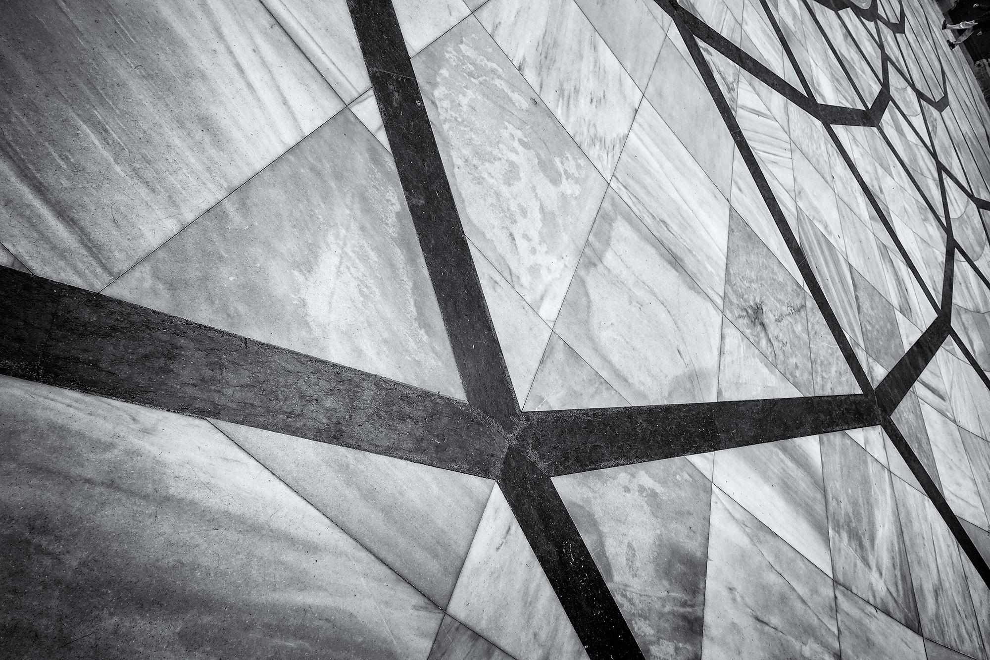 Patterns in the Courtyard. Montserrat, 2015