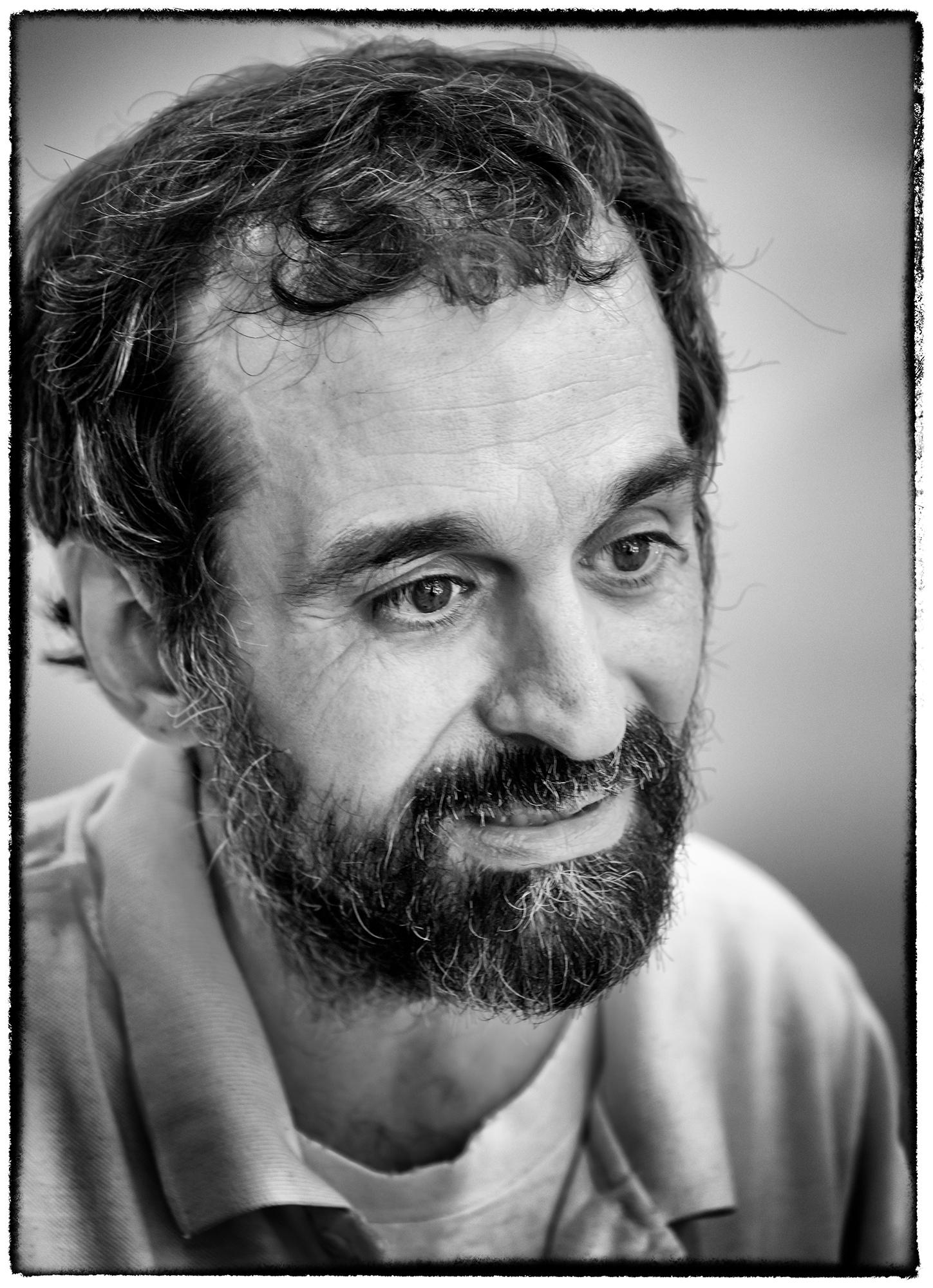 Daniel, Retrato. Barcelona, 2015