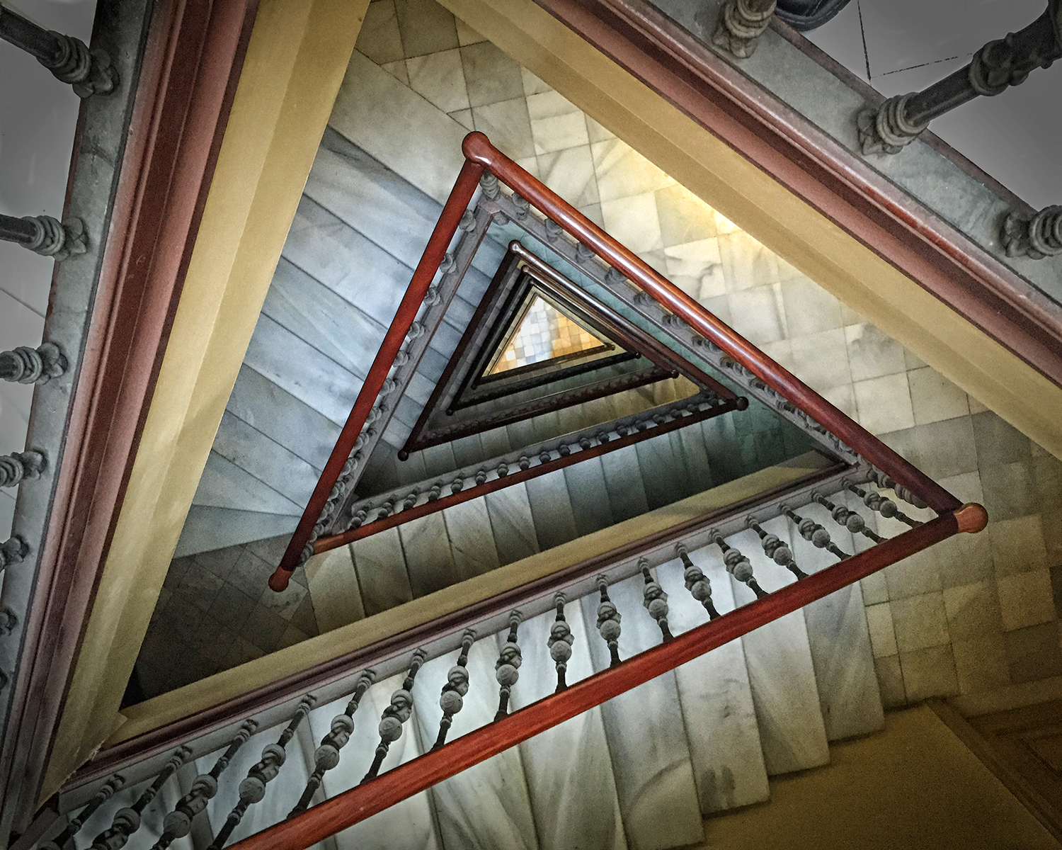 Emilio and Sol's Staircase. Barcelona, 2015