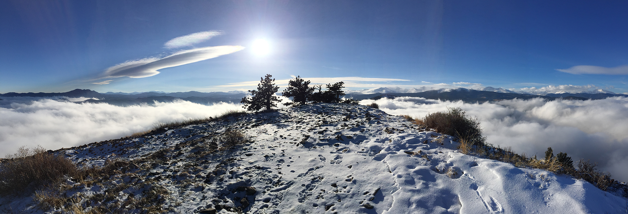 Sugarloaf Pano, iPhone 6. Sugarloaf Mountain, Colorado, 2015