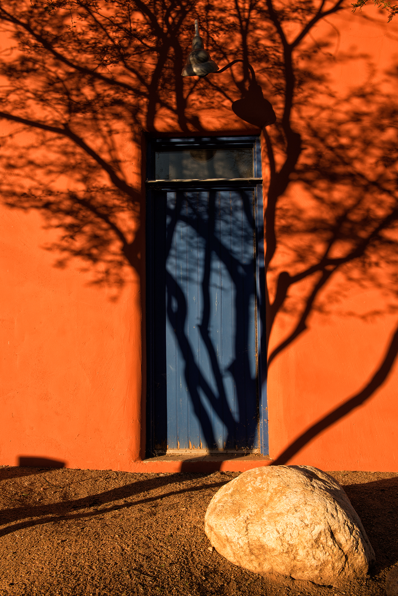 The Blue Door. Tucson, Arizona, 2015