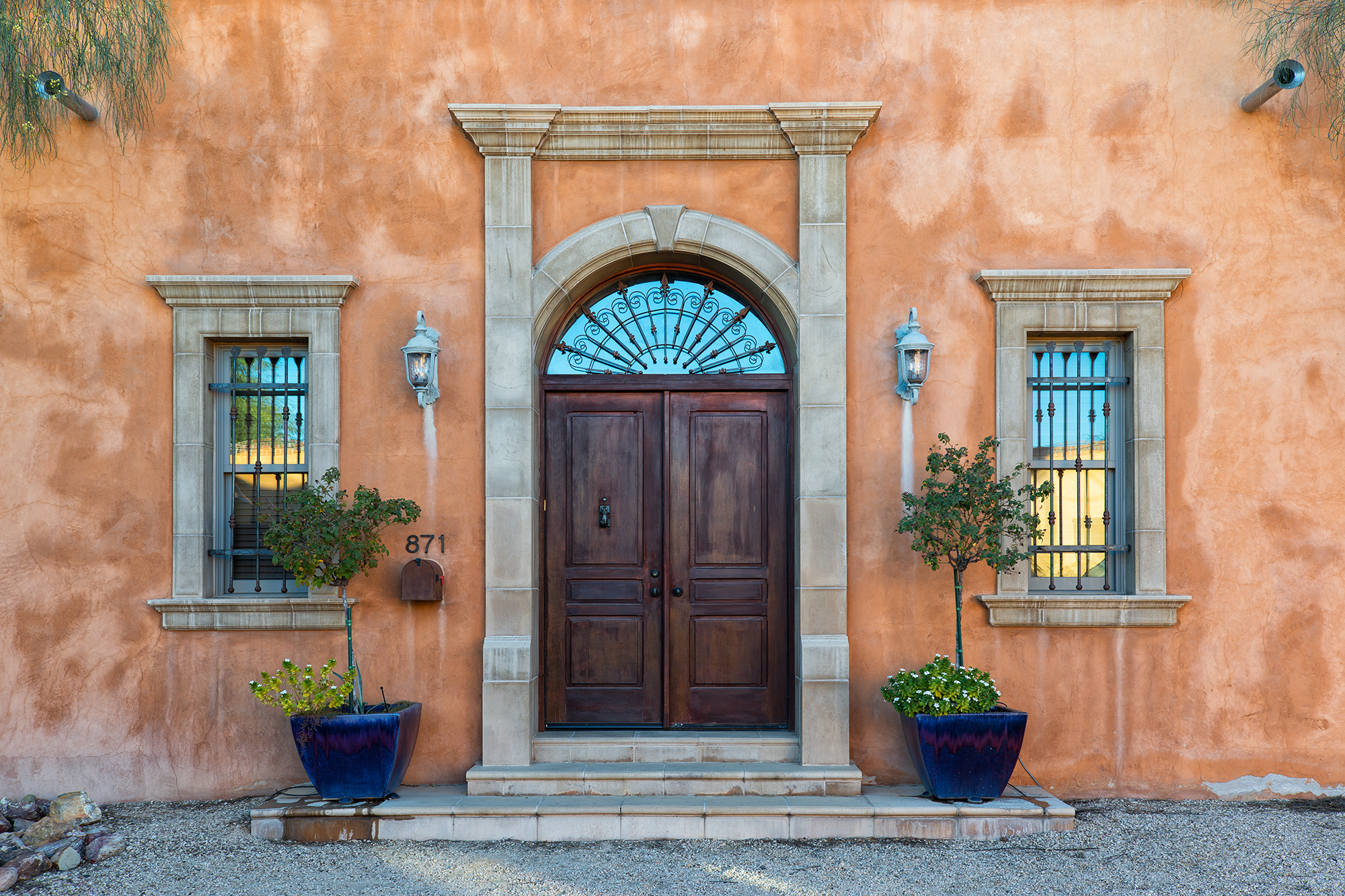 Elegant Doors. Tucson, Arizona, 2015