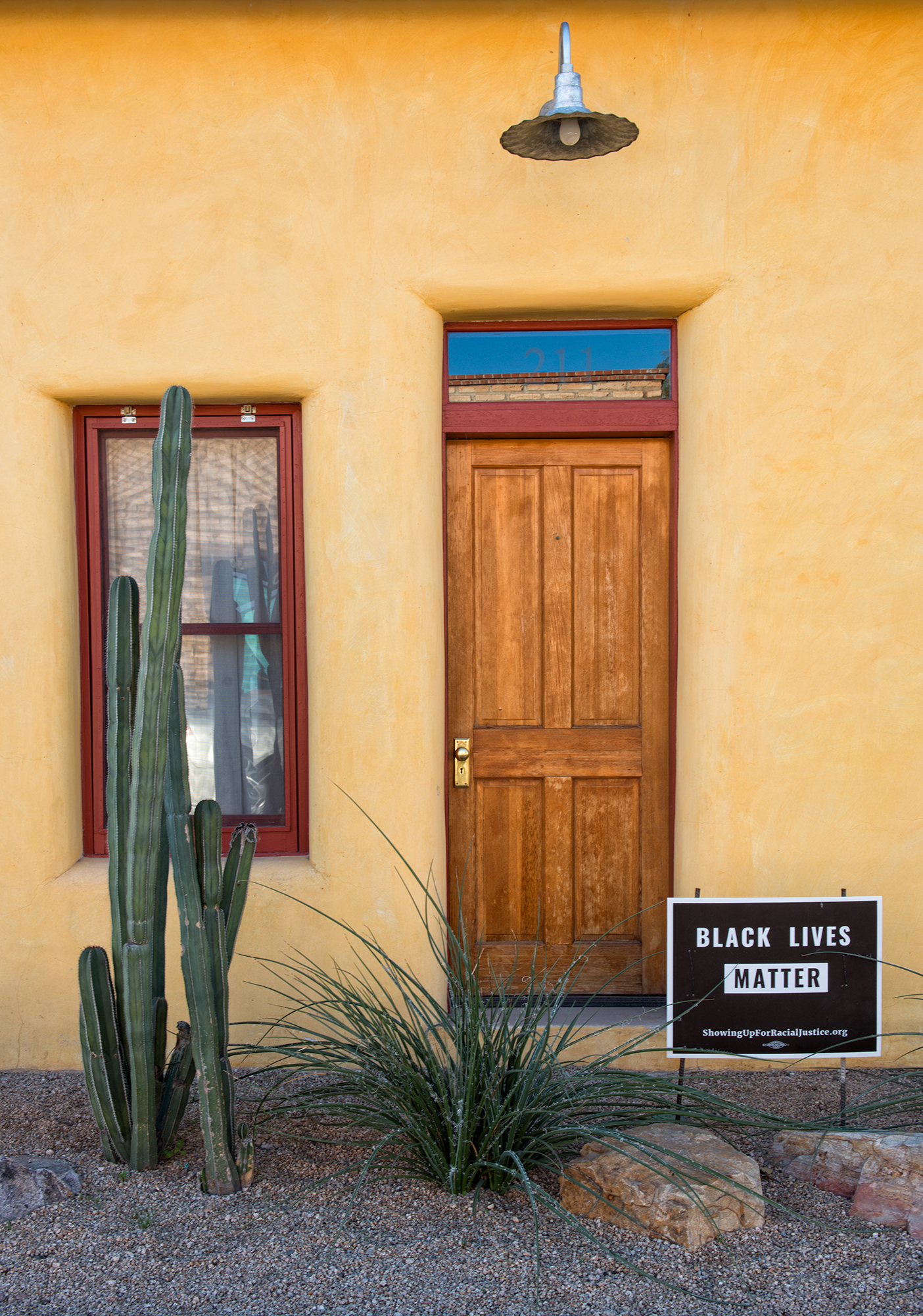 Black Lives Door. Tucson, Arizona, 2015
