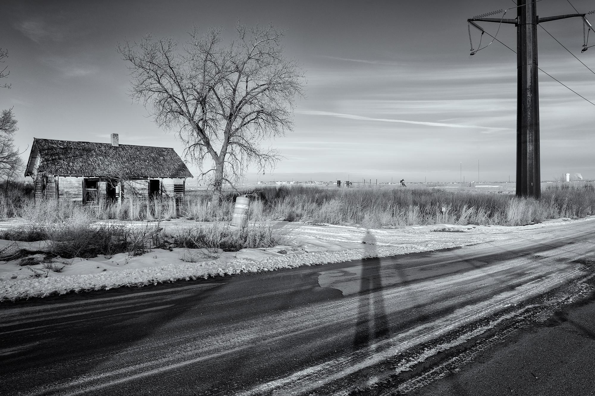 Homestead Decay, Grandview Blvd, Dacono. Weld County, Colorado, 2015