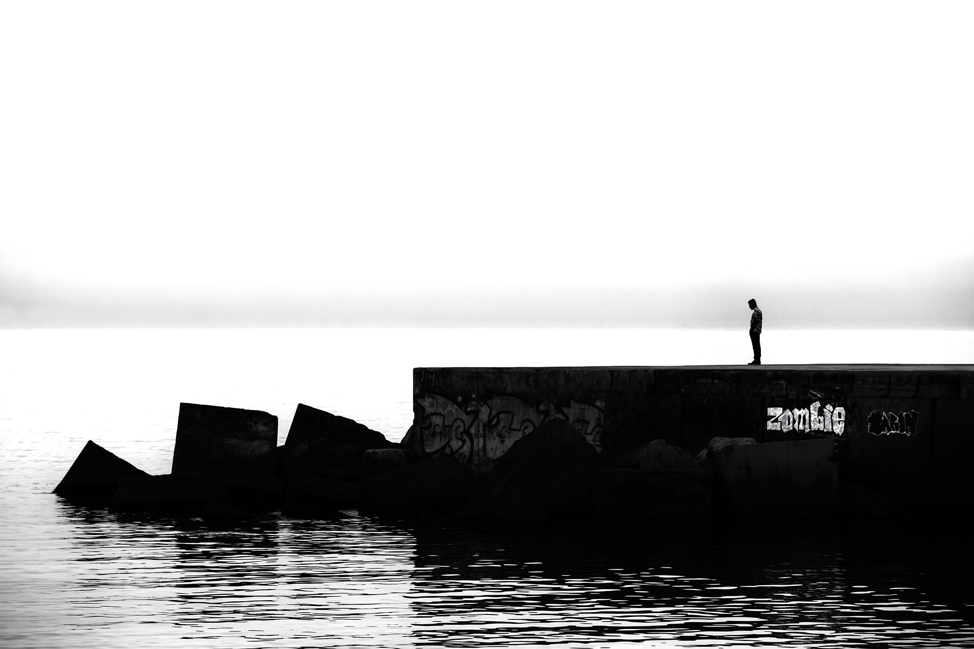 Contemplating the River Styx. Barcelona, 2014