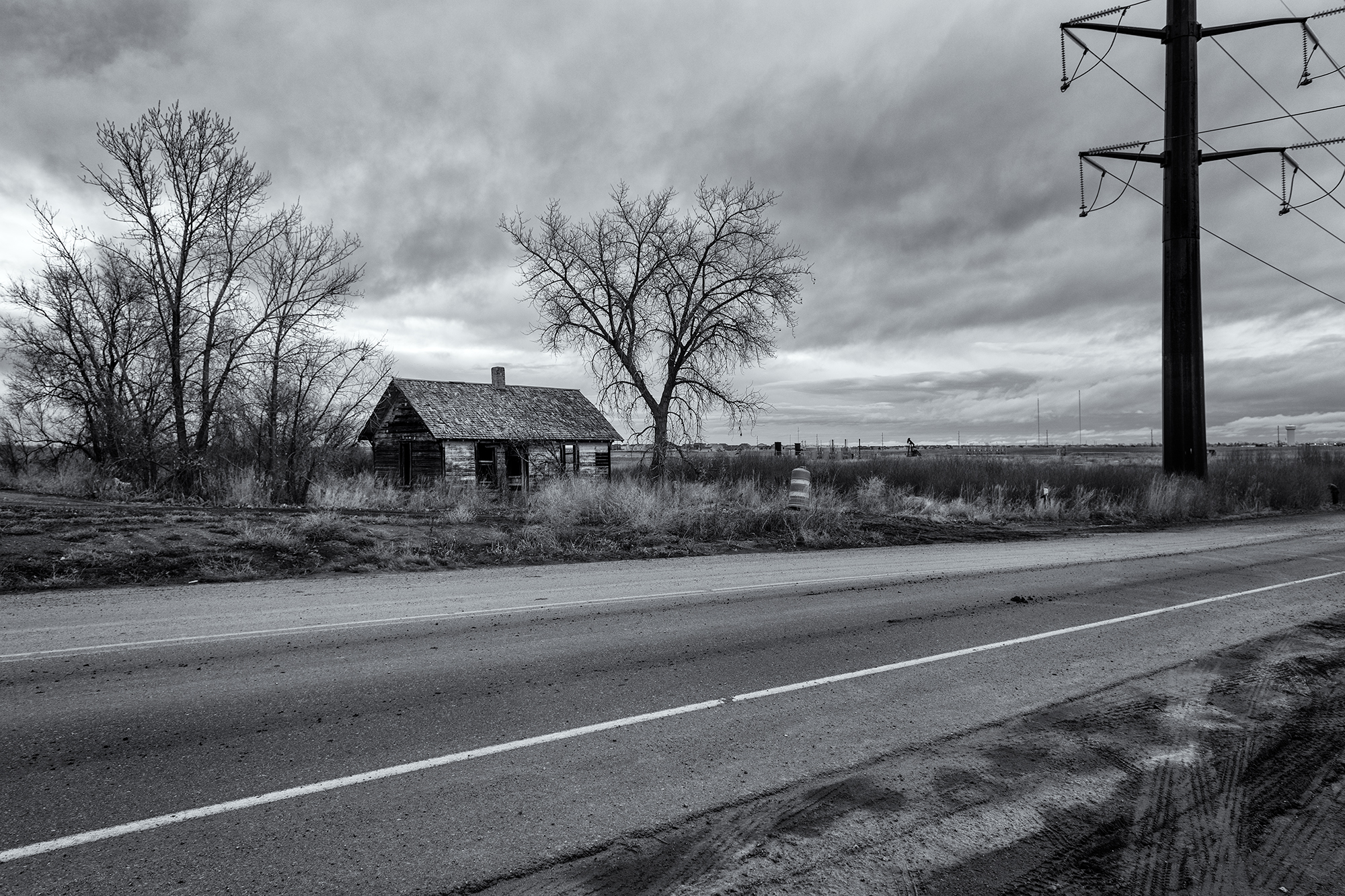 Abandoned Homestead, Grandview Blvd. Weld County, Colorado, 2016