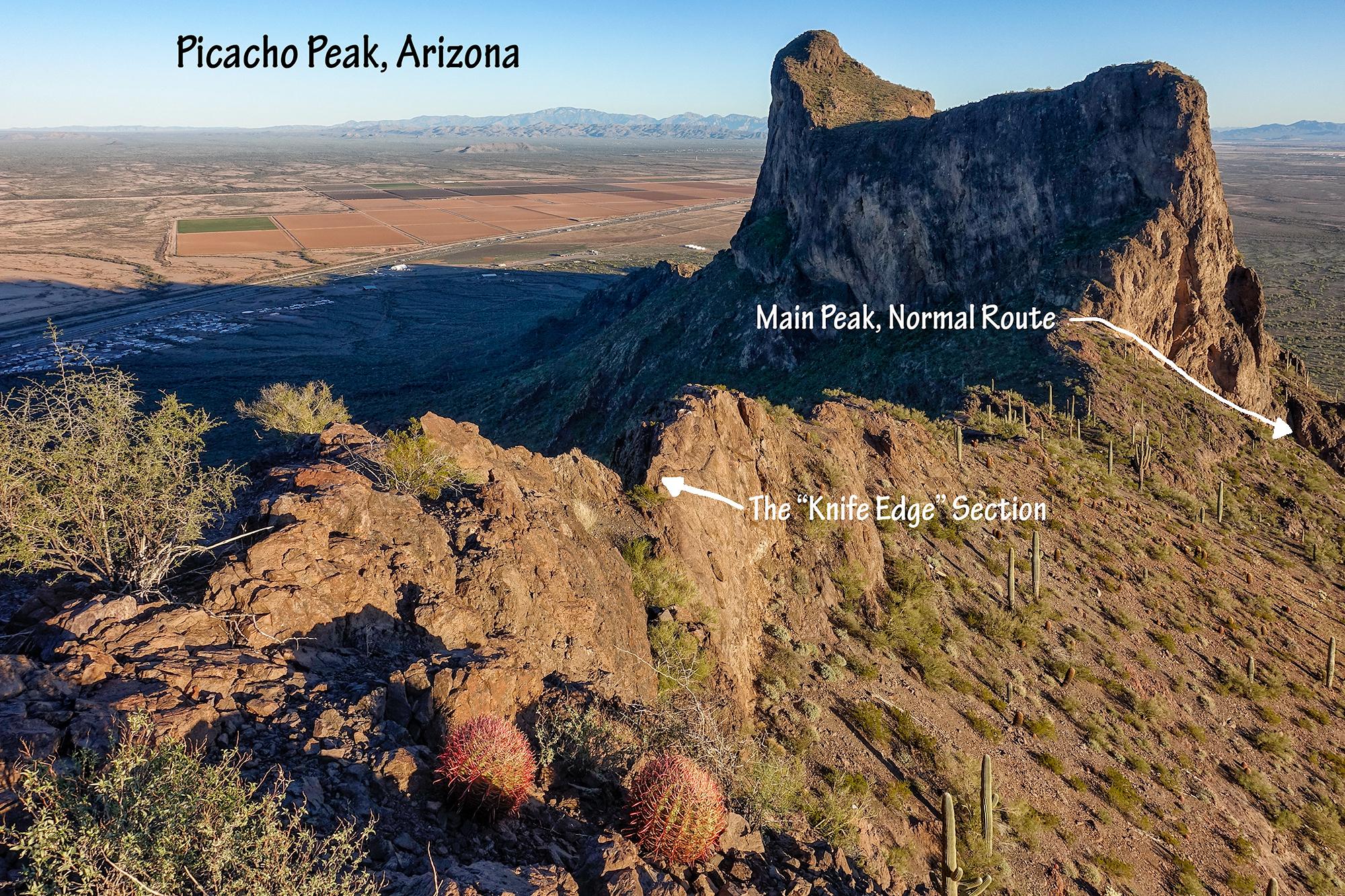 Picacho Peak View, Arizona, 2016