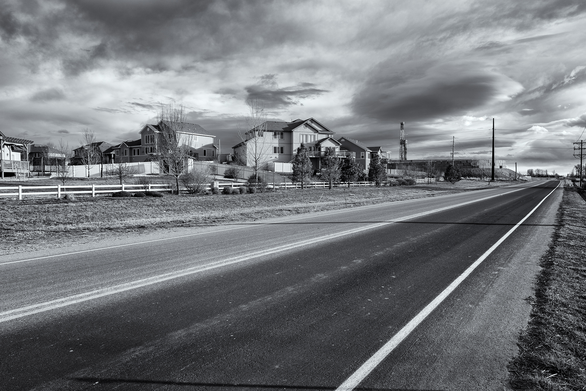 Silver Birch Frack Site, #3. Frederick, Colorado, 2016