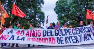 40 Years Ago. Mendoza, Argentina, March 24, 2016