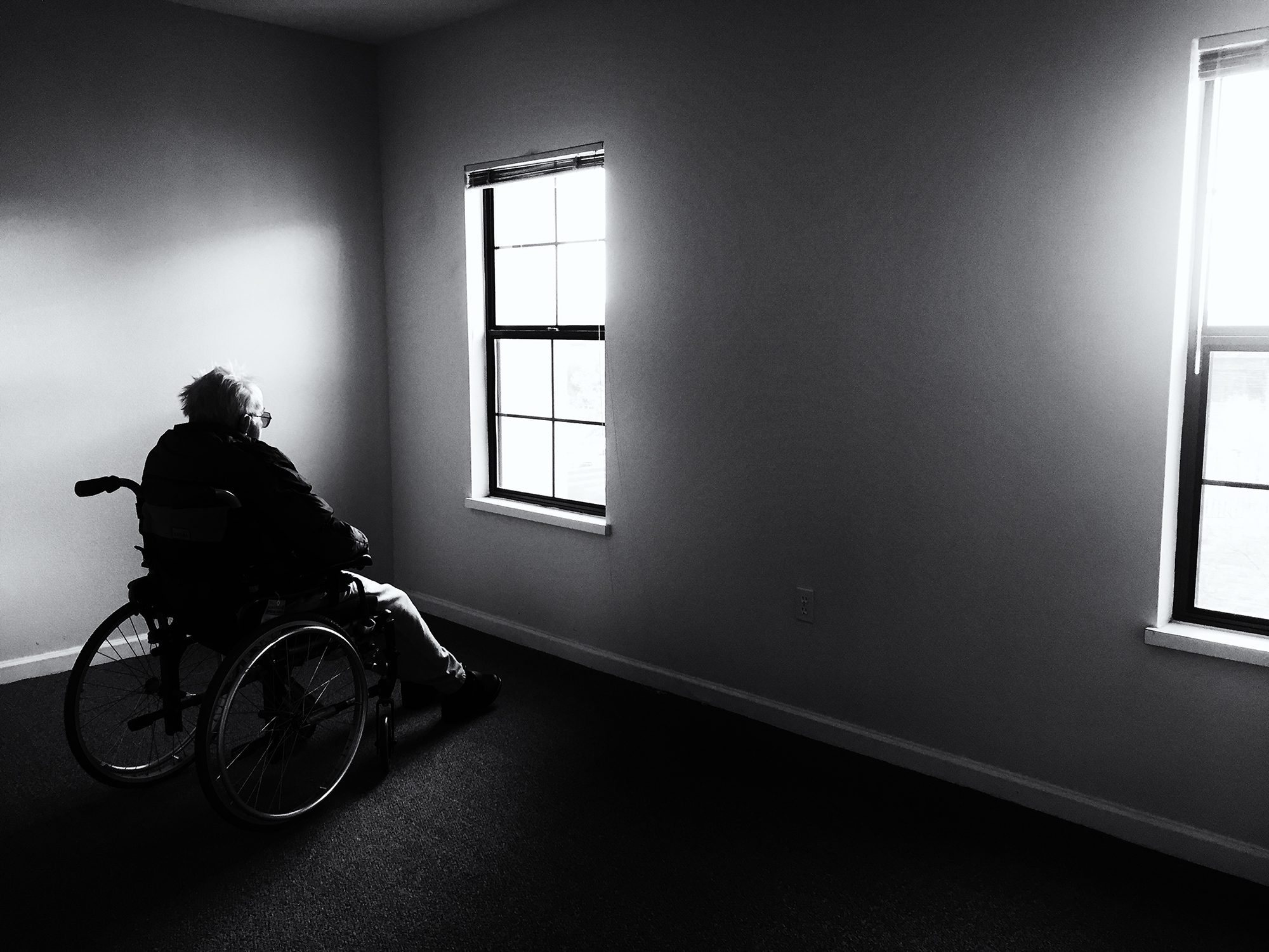 Assisted Living Move-In. Tucson, Arizona, 2016