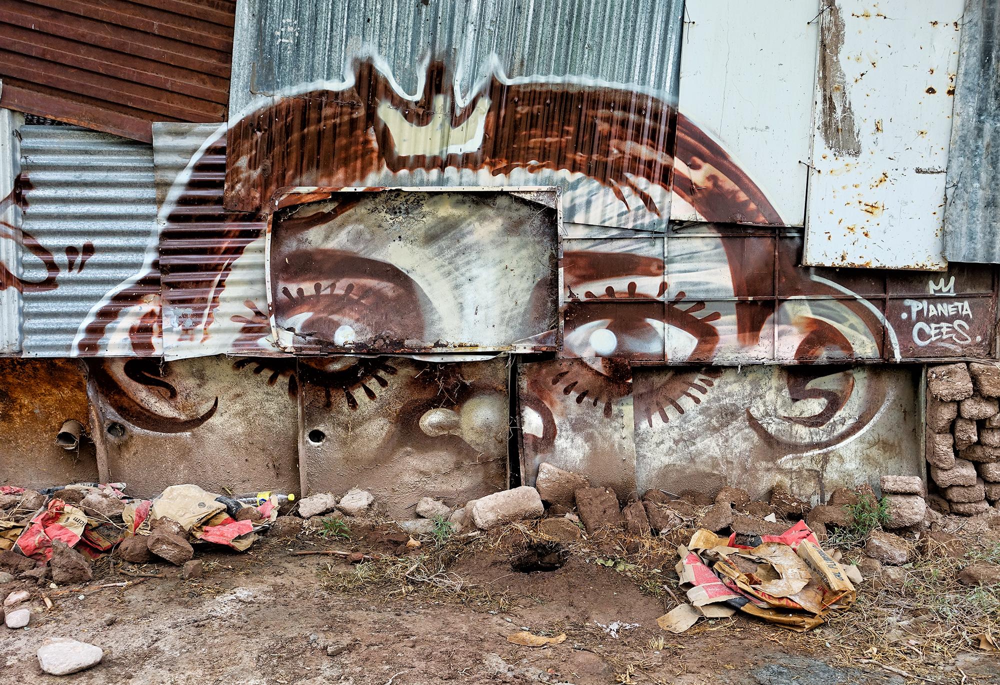 Humble Mural. Godoy Cruz, Mendoza, Argentina, 2016
