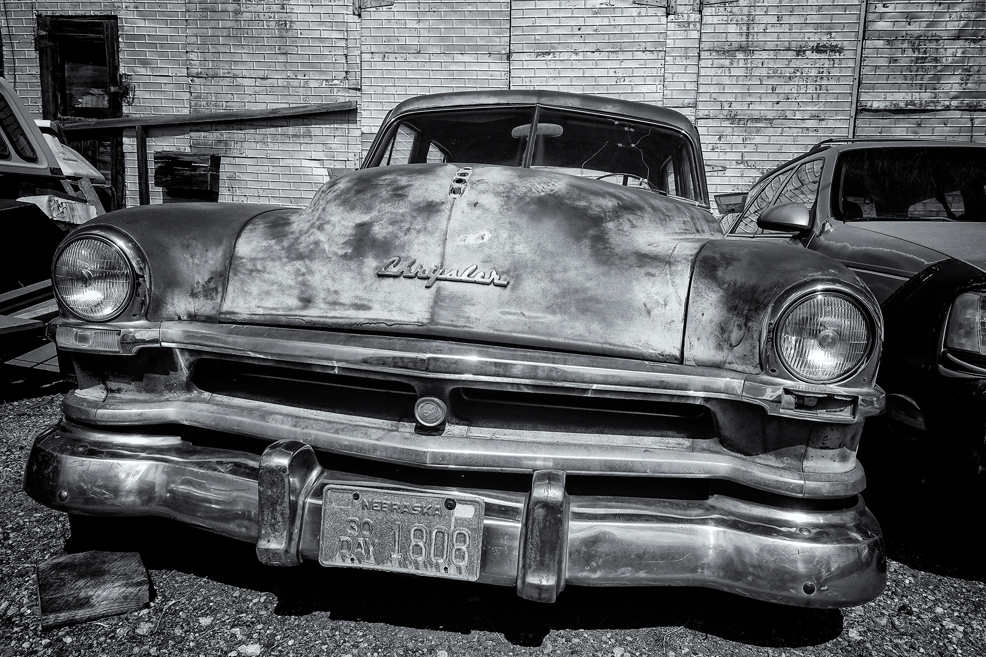 The Old Chrysler. Ft. Collins, Colorado, 2016