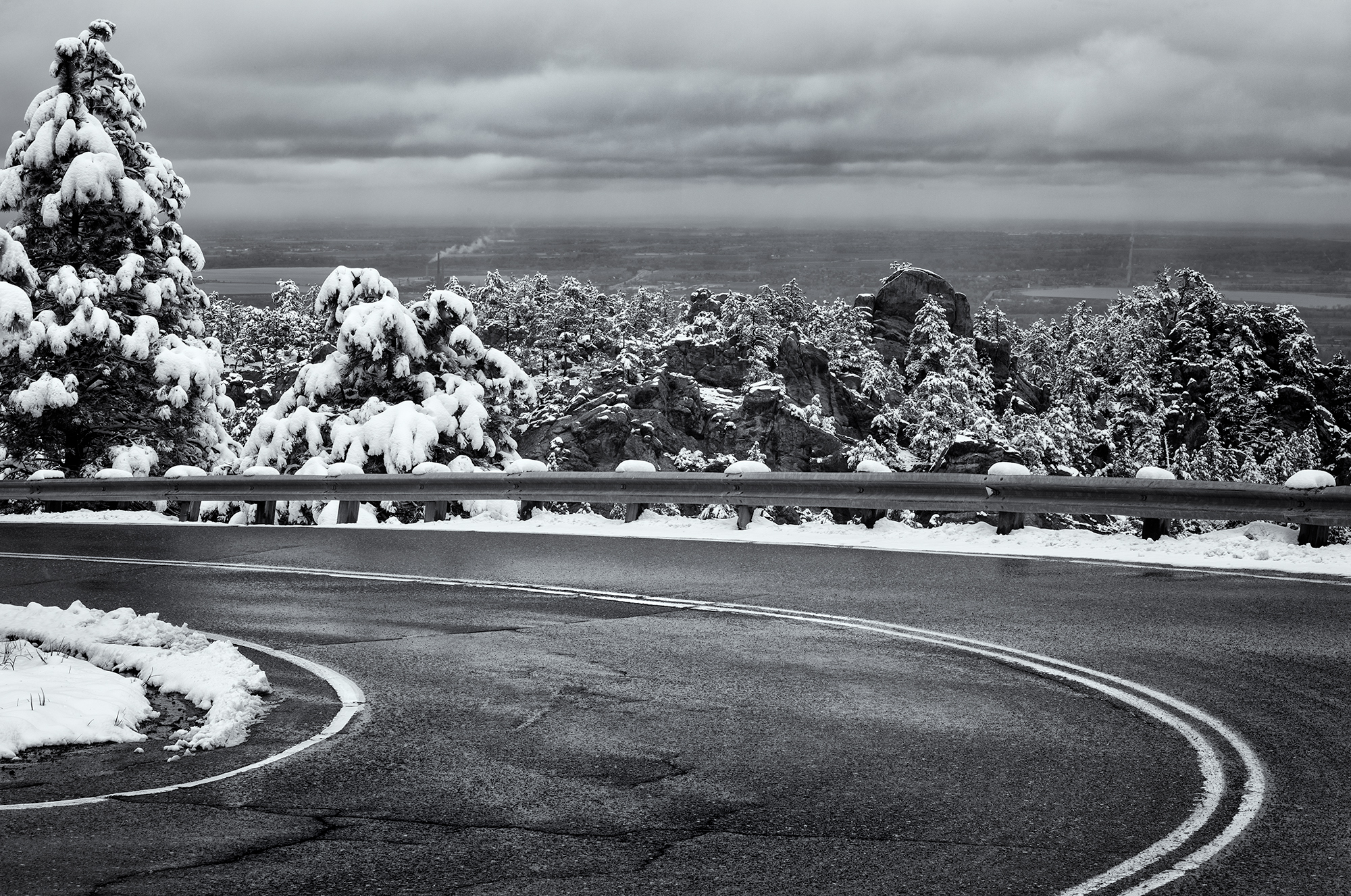Mountain Curve. Flagstaff Mountain, Boulder, Colorado, 2016
