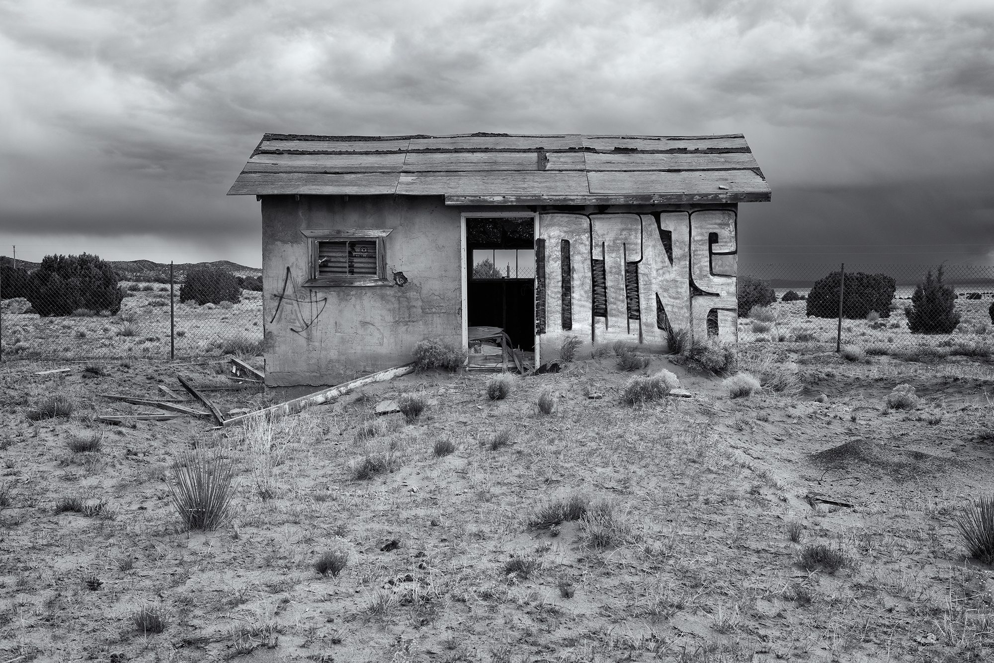 Abandoned. Navajo Nation, Arizona, 2016